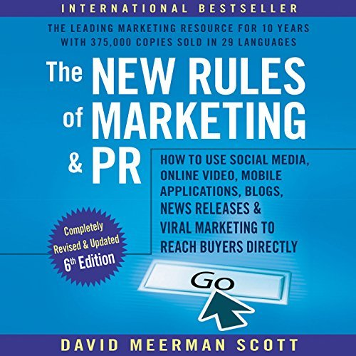 "International Best Selling Author David Meerman Scott Returns to Record His Latest ""New Rules of Marketing and PR"""