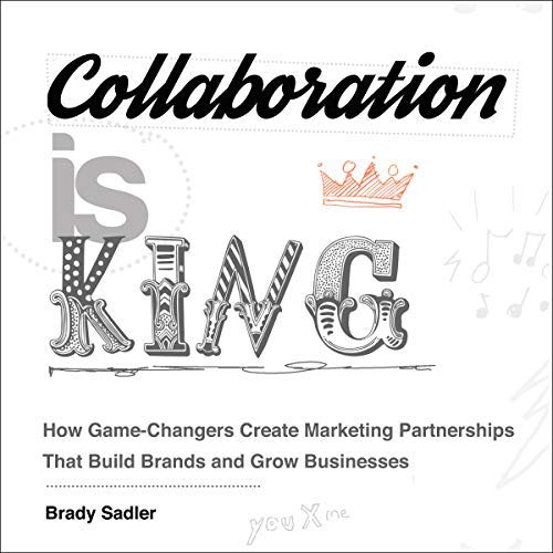 "In Studio: Brady Sadler records his audiobook for ""Collaboration is King"""