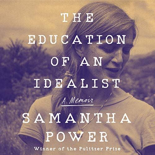 "In Studio: Ambassador Samantha Power records her memoir ""The Education of an Idealist"""